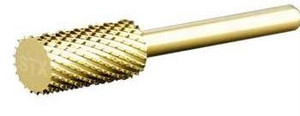 "1/8"" Large Barrel EXTRA COARSE Carbide Bit Gold"