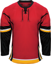 K3G Pro Calgary Knit Away Goalie Jersey