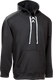 Black Kobe Sportswear Dangler NXT Hockey Lace-up Hoodie | Blanksportswear.ca