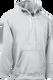 Ash Grey Kobe Sportswear Dangler NXT Hockey Lace-up Hoodie | Blanksportswear.ca