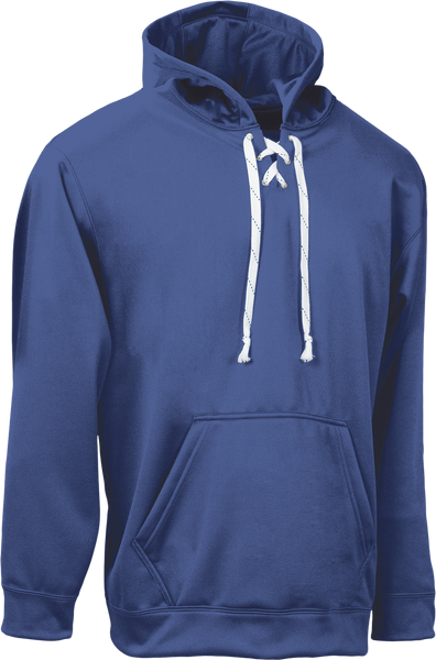 Royal Kobe Sportswear Dangler NXT Hockey Lace-up Hoodie | Blanksportswear.ca