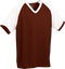 Maroon/White Kobe Sportswear Punchout V-Neck Baseball House-League Youth Jersey | Blanksportswear.ca