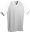 Grey/White Kobe Sportswear Punchout V-Neck Baseball House-League Youth Jersey | Blanksportswear.ca