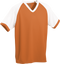 Orange/White Kobe Sportswear Punchout V-Neck Baseball House-League Youth Jersey | Blanksportswear.ca