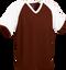 Maroon/White Kobe Sportswear Punchout V-Neck Baseball House-League Adult Jersey | Blanksportswear.ca