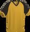 Gold/Black Kobe Sportswear Punchout V-Neck Baseball House-League Adult Jersey | Blanksportswear.ca