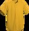 Gold Kobe Sportswear Triple Crown Full Button Adult Baseball Jersey | Blanksportswear.ca