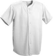 Grey Kobe Sportswear Triple Crown Full Button Adult Baseball Jersey | Blanksportswear.ca