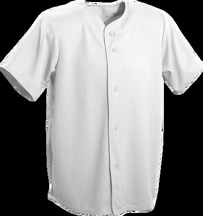 Grey Kobe Sportswear Triple Crown Full Button Adult Baseball Jersey | Blanksportswear.ca