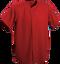 Red Kobe Sportswear Triple Crown Full Button Adult Baseball Jersey | Blanksportswear.ca
