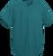 Teal Kobe Sportswear Triple Crown Full Button Adult Baseball Jersey | Blanksportswear.ca