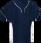 Navy/White Kobe Sportswear Slider Two-Tone Performance Youth Baseball Jersey | Blanksportswear.ca