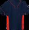 Navy/Red Kobe Sportswear Slider Two-Tone Performance Adult Baseball Jersey   Blanksportswear.ca