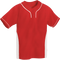 Red/White Kobe Sportswear Slider Two-Tone Performance Adult Baseball Jersey   Blanksportswear.ca