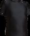 Black Kobe Sportswear 8910Y Short Sleeve Youth Compression Shirt | Blanksportswear.ca