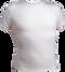 White Kobe Sportswear 8910Y Short Sleeve Youth Compression Shirt | Blanksportswear.ca