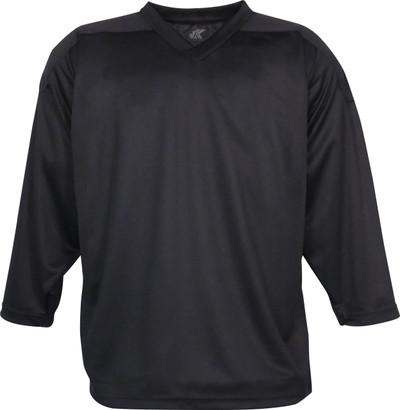 Black Kobe Sportswear 5400A Mid-Weight Pro-Knit Adult Practice Jersey | Blanksportswear.ca