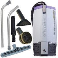 Super Coach Pro 10 Backpack Vacuum w/ Xover Tool Kit D - 10 Qt.