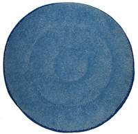 "21"" BLUE Microfiber Loop Pile CARPET BONNET"