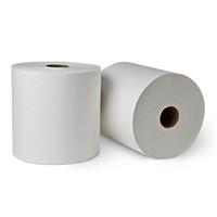 """Empress Hardwound Towel 7.875"""" X 800' White 6 Rolls"""