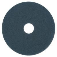 "17"" Blue Scrubbing Floor Pad"