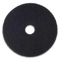 "17"" Black Stripping Floor Pad"