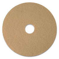 "20"" Tan Burnishing Floor Pad"