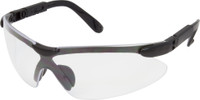 Saftey Glasses Wrap Around Eye Wear (Clear Lens)