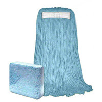 Blended Cotton Cut-End Narrow Band 24 oz Mop Head