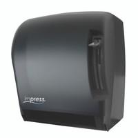 Impress Lever Roll Towel Dispenser (Black Translucent)