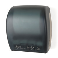 Mechanical Auto-Cut Roll Towel Dispenser (Dark Translucent)