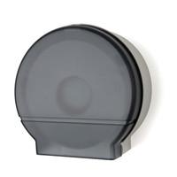 """Single 9"""" Jumbo Tissue Dispenser (Black Translucent)"""