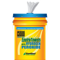 Sentinel 300 EnviroTowels With Hydrogen Peroxide