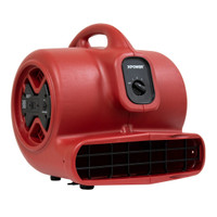 XPOWER X-600A 1/3 HP PROFESSIONAL AIR MOVER (RED)