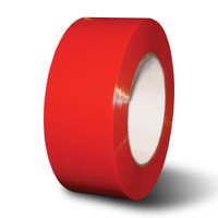 "3"" x 60 yds. Red Gaffers Vinyl Tape Pinked Edges"