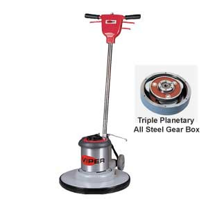 Viper 20 Inch Floor Buffer Scrubber Machine With Pad