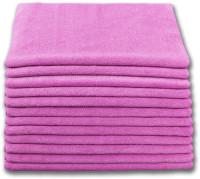 Microfiber 300 GSM  Multipurpose  16 x16 Towel Pink