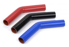 "silicone elbow hose 1.000"" ID 45 Degree, 10"" Legs"