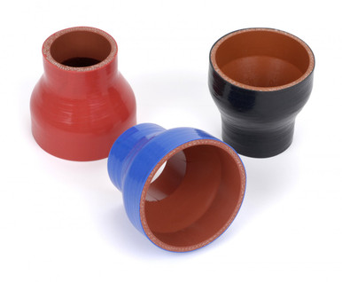 "4.00/4.50"" ID x 3"" High Performance Silicone Reducer"