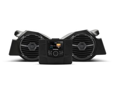 Stereo and front speaker kit for select Polaris® RZR® models