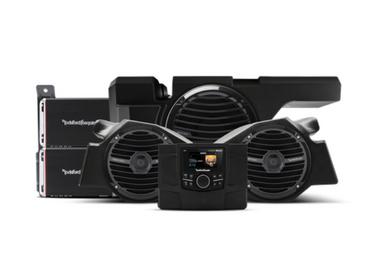 600 Watt stereo, front speaker and subwoofer kit for select Polaris® RZR® models