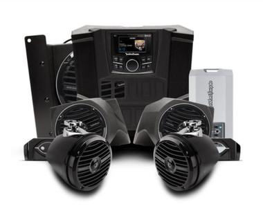 400 watt stereo, front lower speaker, rear speaker, and subwoofer kit for select Polaris RANGER®