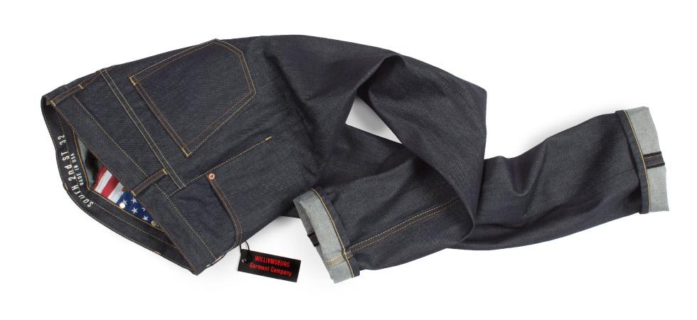 Raw Denim Straight Leg American made jeans