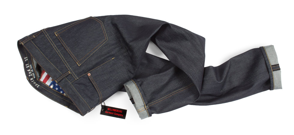 Men's Raw Denim Straight Leg American made jeans