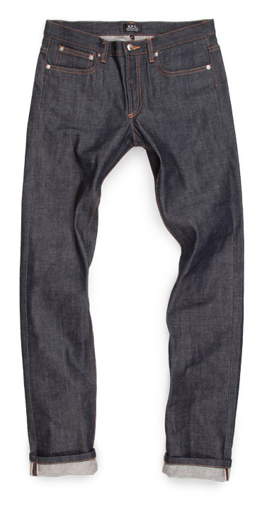 apc mens raw denim jeans compare petit standard