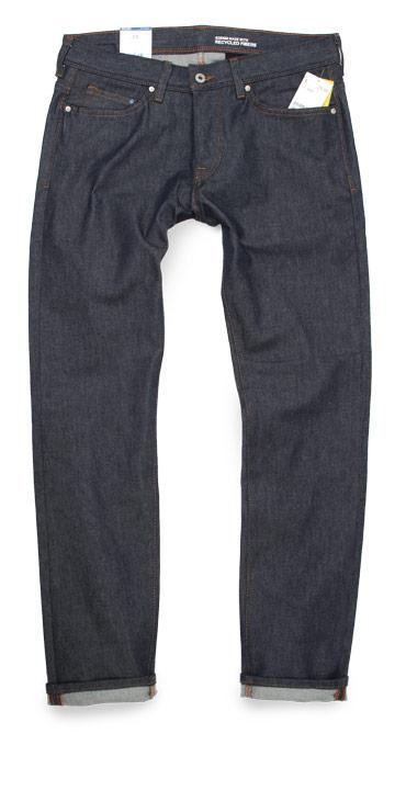 H&M Slim Low Waist Fit raw denim jeans
