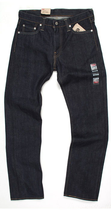Levi's 513 slim straight fit jeans fit measurements guide