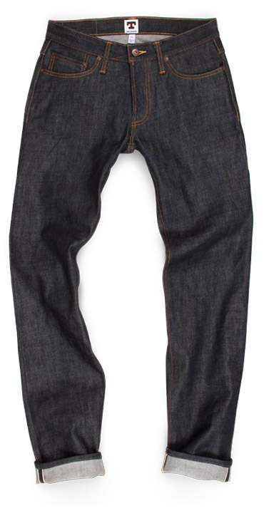 tellason raw denim jeans compare ladbroke grove fit