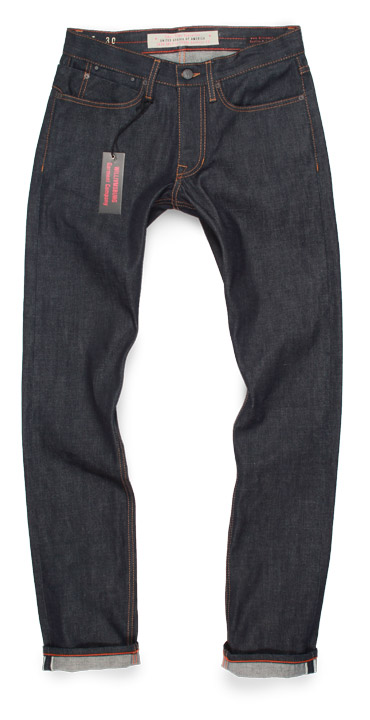 compare Williamsburg Grand St Slim fit jeans vs.