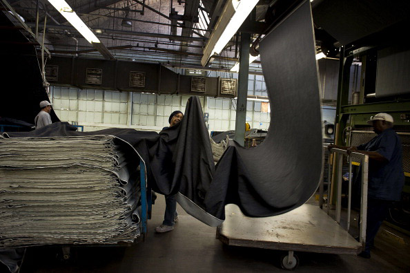 Inside International Textile Group's Cone Denim Mills White Oak Plant - Before Closing